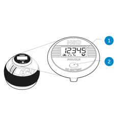 Merkmale des NSD Speedometer Single Button