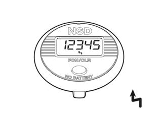 Funktionen des NSD Speedometer Single Button - Höchstgeschwindigkeit