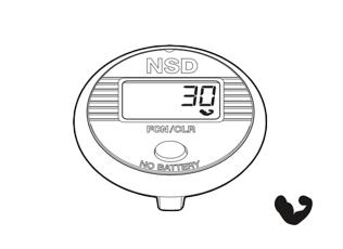 Funktionen des NSD Speedometer Single Button - Kraftindex