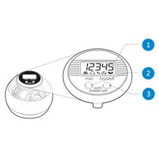 Merkmale des NSD speedometer dual button