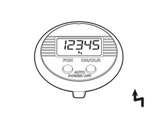 Funktionen des NSD speedometer dual button - Höchstgeschwindigkeit