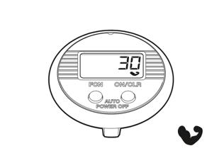 Funktionen des NSD speedometer dual button - Kraftindex