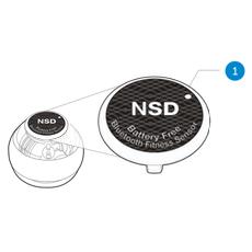 Uiterlijk NSD Spinner bluetooth snelheidsmeter